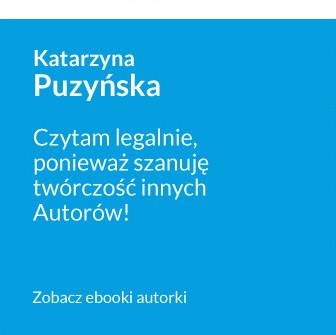 Antypiracimy - autor - Katarzyna Puzyńska - Czytam legalnie, ponieważ szanuję twórczość innych autorów