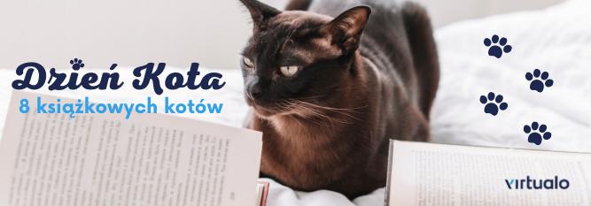 Blog - baner - Kocie książki na Dzień Kota