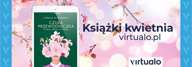 Blog - baner - Książki kwietnia Virtualo.pl
