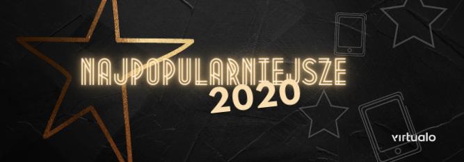 Blog - baner - Najpopularniejsze książki 2020 roku według Virtualo.pl