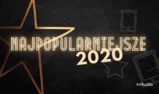 Blog - Najpopularniejsze książki 2020 roku według Virtualo.pl