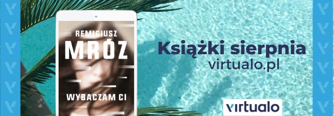 Blog - baner - Książki sierpnia Virtualo.pl