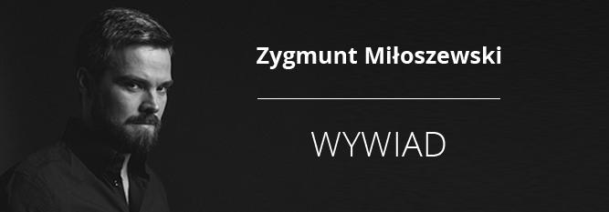 """Blog - baner - """"Pisanie bierze się z czytania"""" - Zygmunt Miłoszewski w ogniu pytań"""