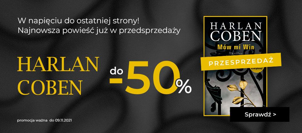 Harlan Coben - przedsprzedaż -SE
