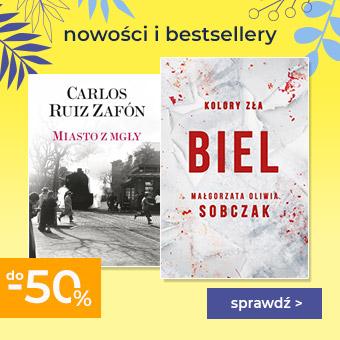 Nowości i bestsellery na stronie głównej